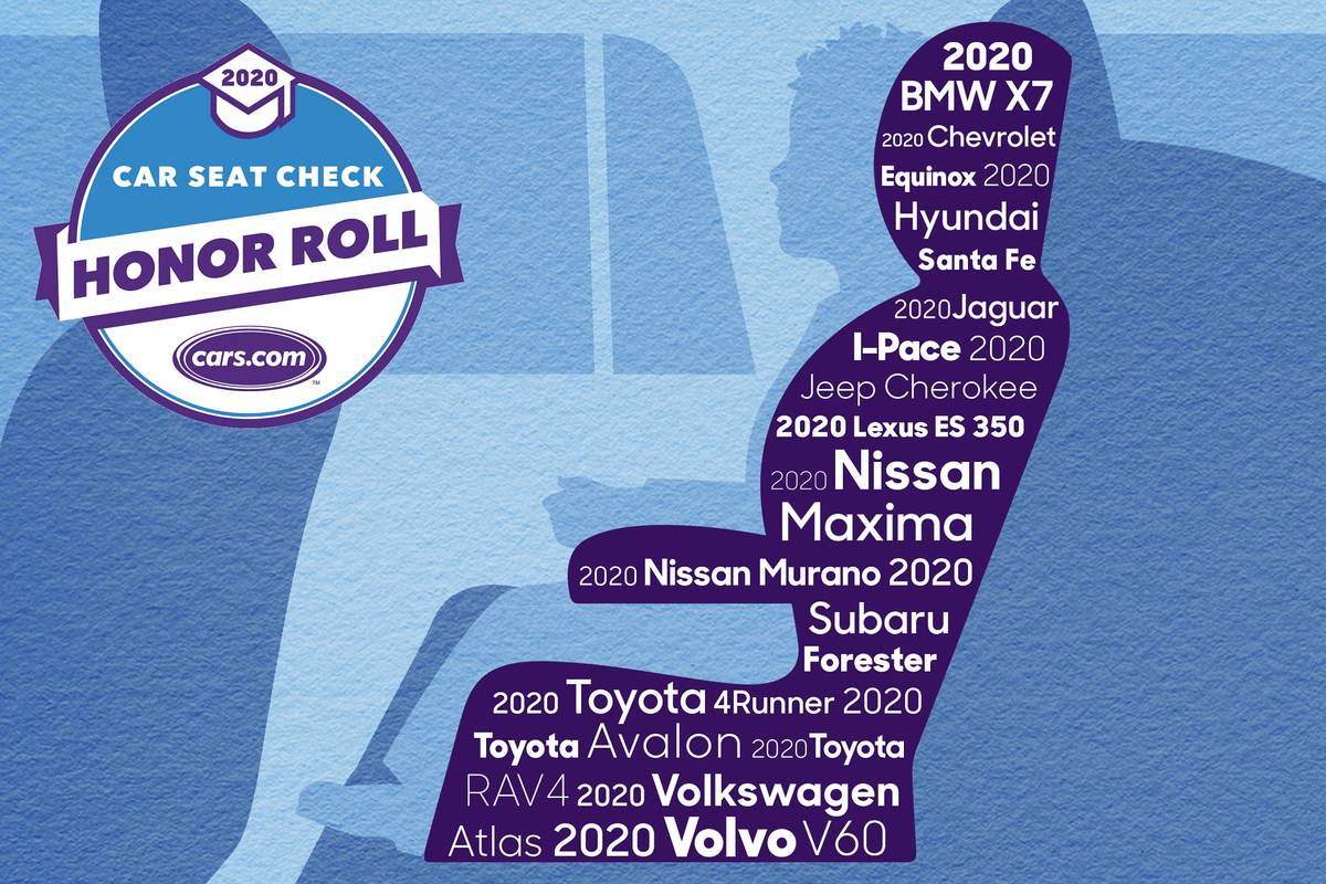 Car Seat Check Honor Roll illustration