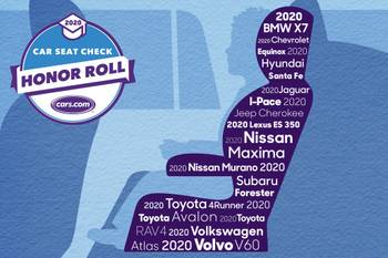 2020 Car Seat Check Honor Roll: Best New Cars for Car Seats