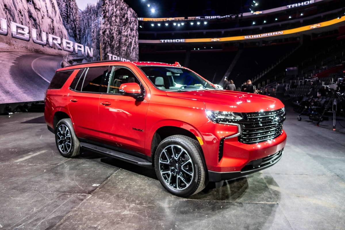 2021 chevrolet suburban and tahoe the general did its