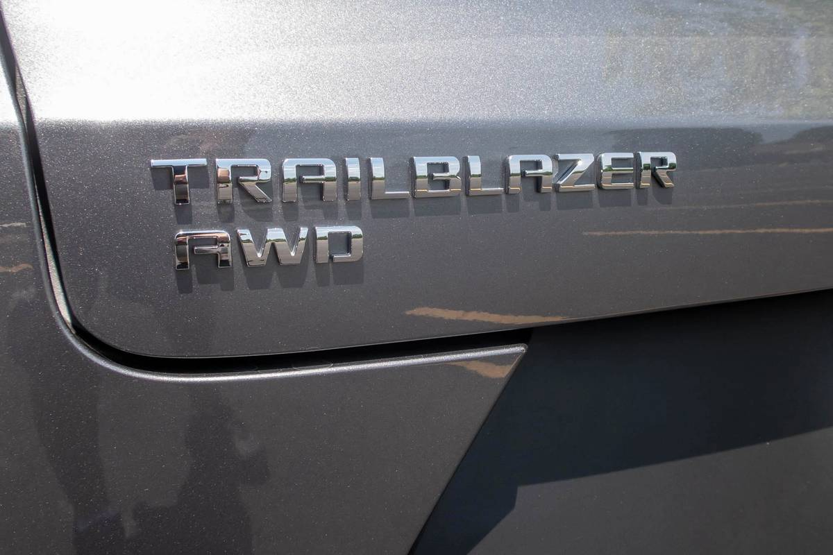 2021 Chevrolet Trailblazer rear badging