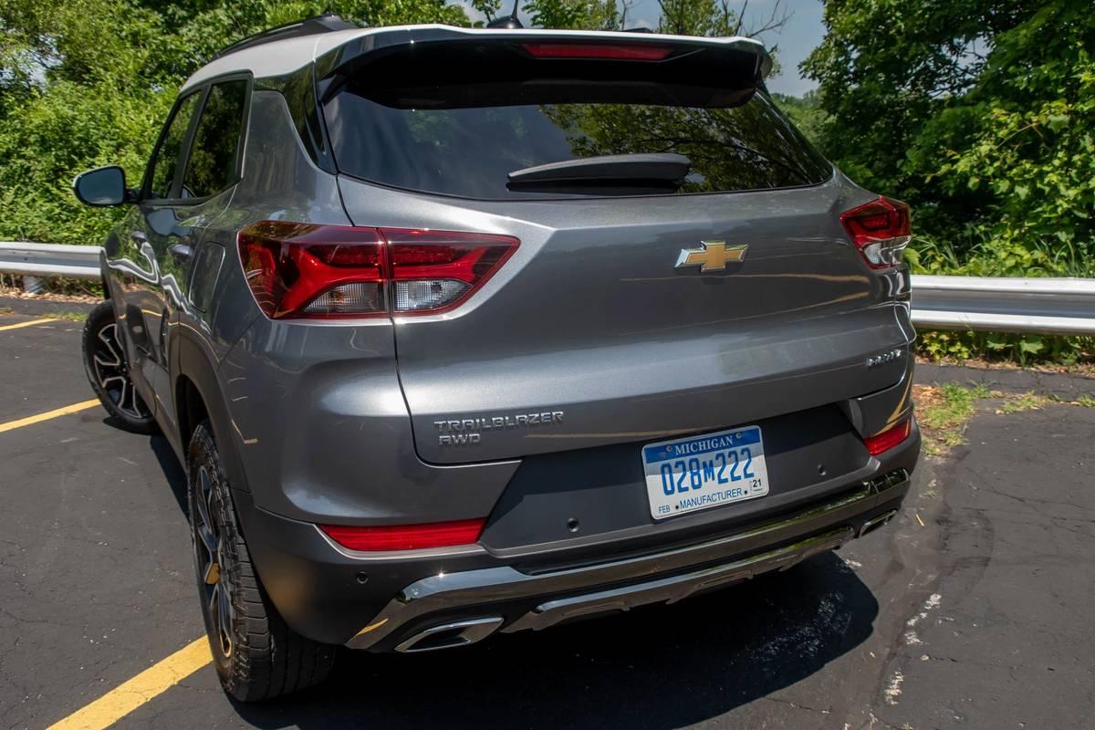 2021 Chevrolet Trailblazer rear