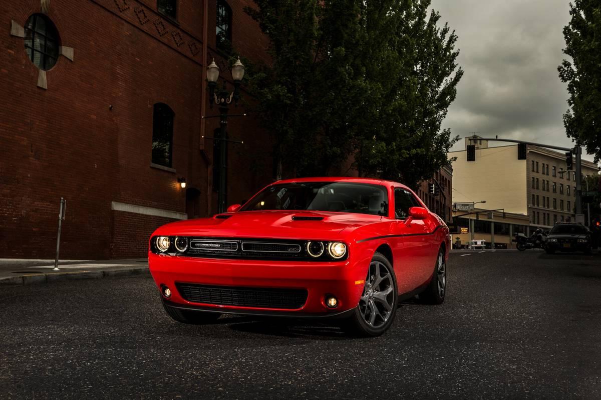Red 2019 Dodge Challenger SXT Plus