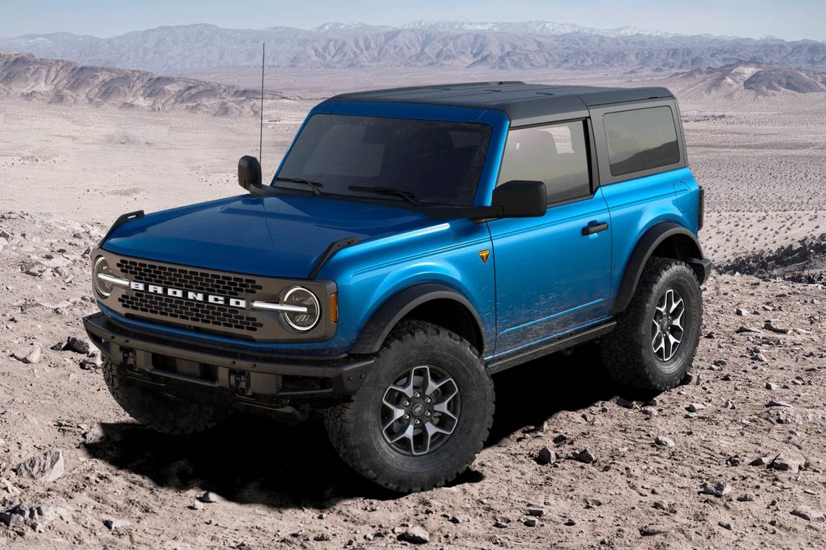 build-a-bronco: 2021 ford bronco and bronco sport