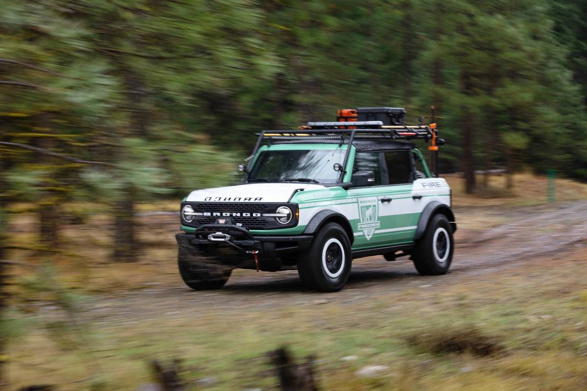 Ford Turns Up the Heat on Bronco With Forest Fire Concept | News from Cars.com