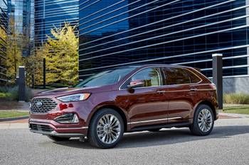2021 Ford Edge Adds Technology, Standard 12-Inch Touchscreen