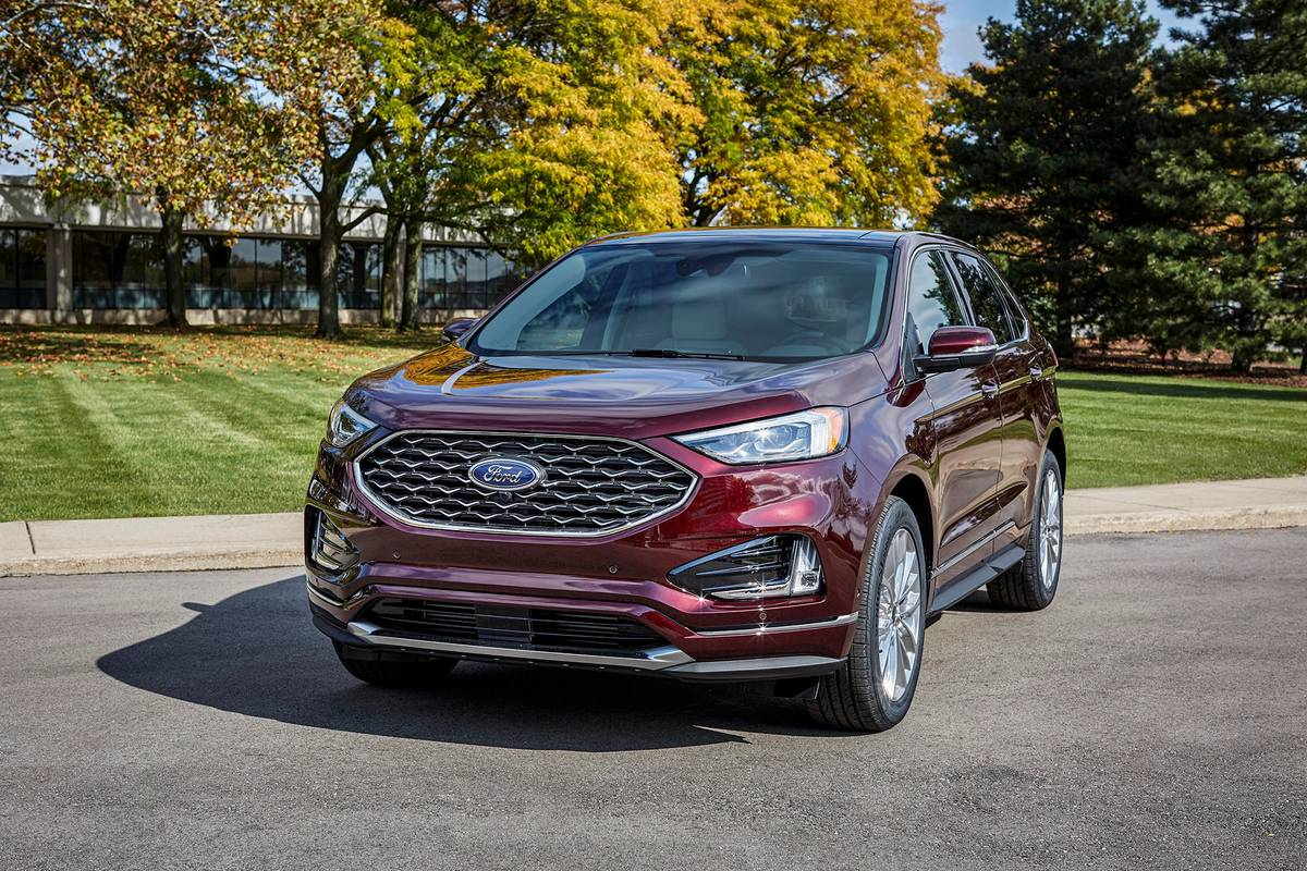 2021 Ford Edge Adds Technology, Standard 12-Inch Touchscreen | News from Cars.com