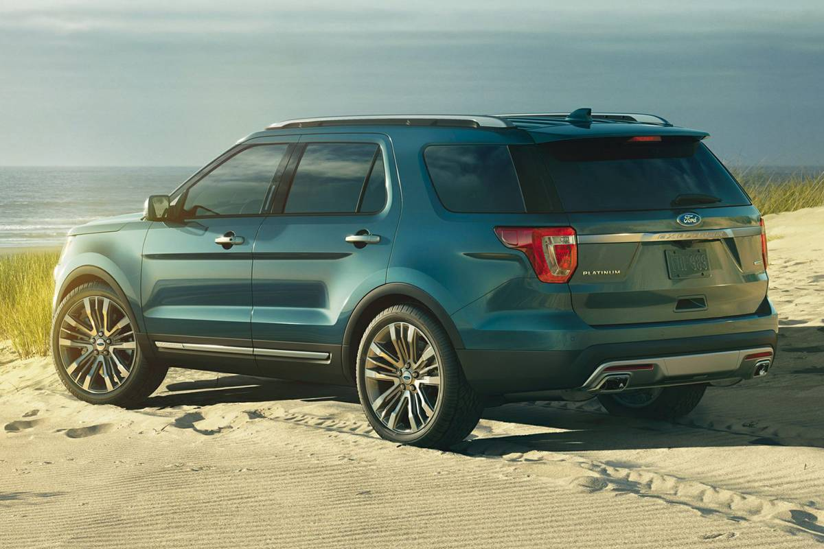 350,000 2013-2017 Ford Explorers Recalled for Possible Suspension Fracture