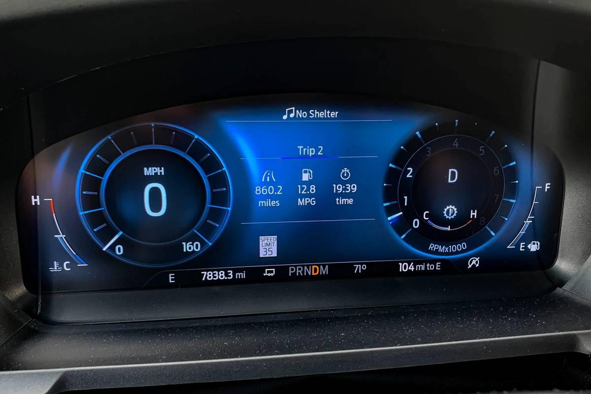 2020 Ford Explorer instrument panel