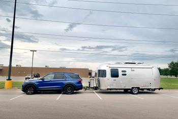 How Well Does the 2020 Ford Explorer Tow a Camper Trailer?