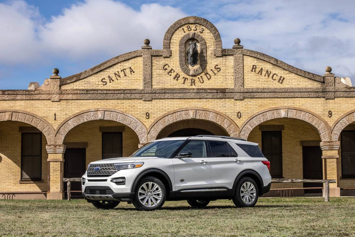 Ford Adds 2021 Explorer King Ranch: Here's What $53,595 Gets You