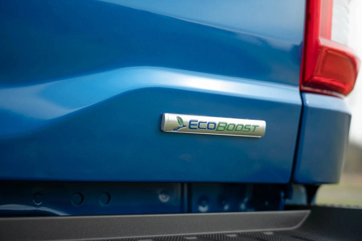 2021 Ford F-150 EcoBoost emblem