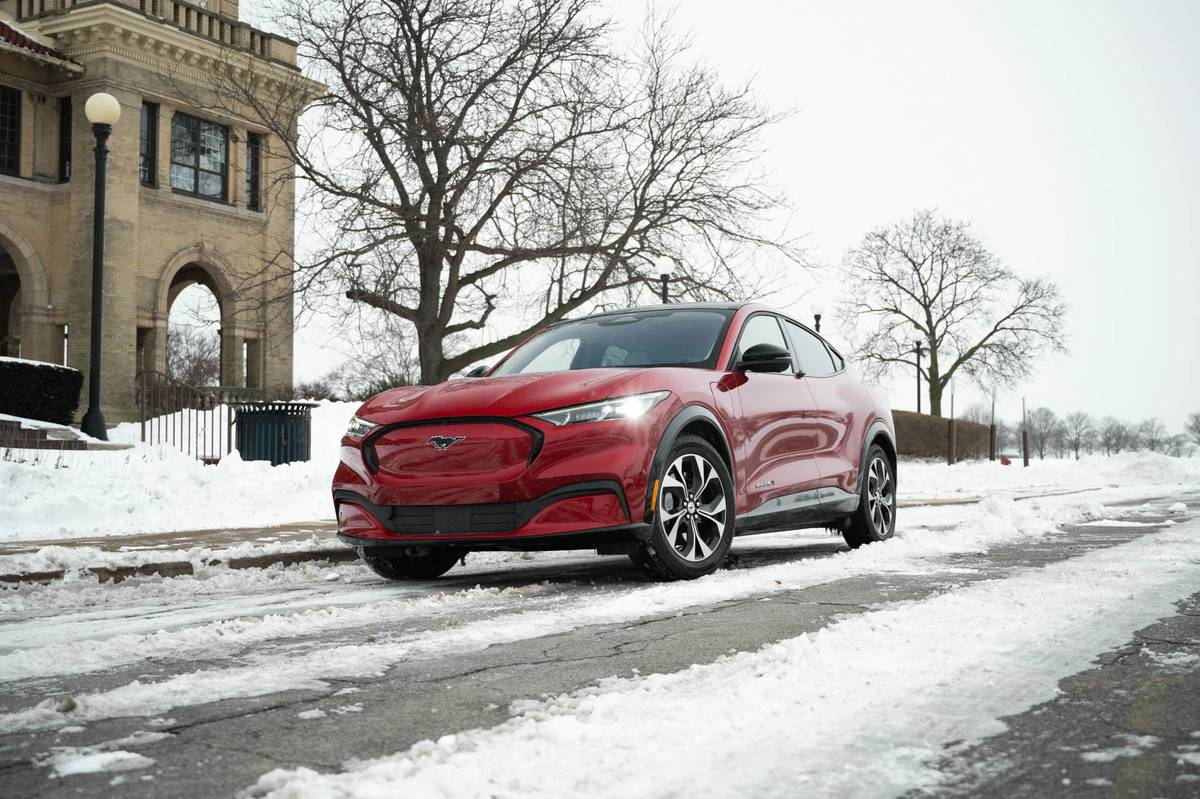 Living With a 2021 Ford Mustang Mach-E: Will It Winter?