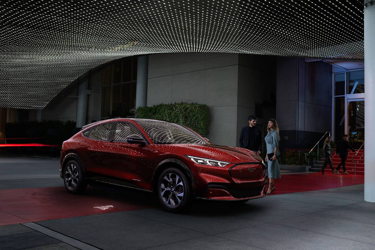 2021 Ford Mustang Mach E Electric Mustang Suv Is Not A Typo News Cars Com
