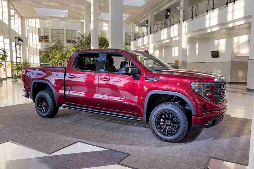 gmc-sierra-1500-at4x-2022-01-exterior-front-angle-red-truck
