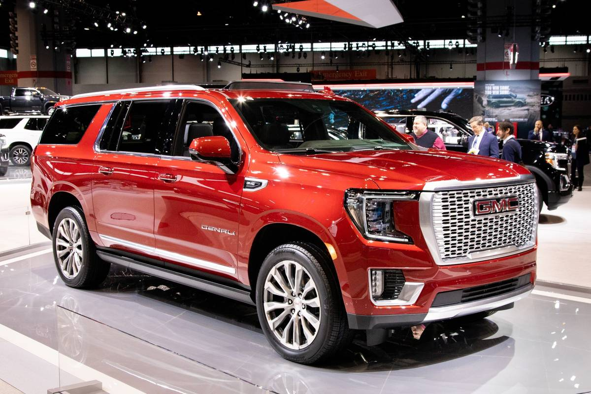 2020 Cleveland Auto Show 2021 Gmc Yukon And 4 Other Things You Can T Miss News Cars Com