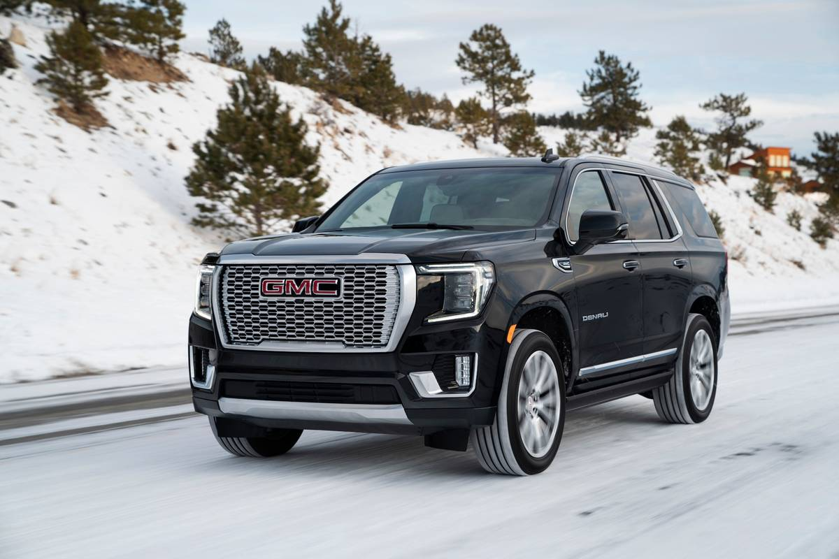 Hoping The 2021 Gmc Yukon Would Boast Much Improved Mpg Towing