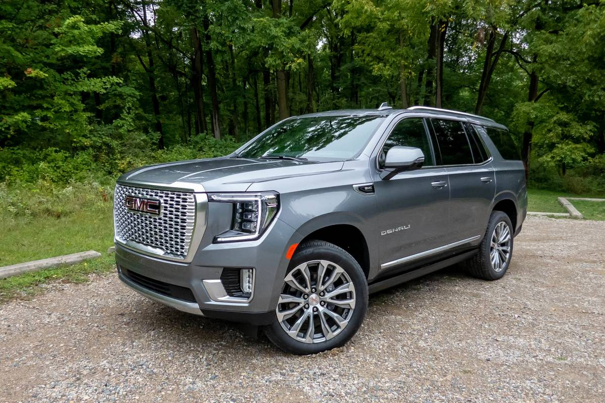2021 Gmc Yukon Denali Review Finally The Denali Is Different News Cars Com