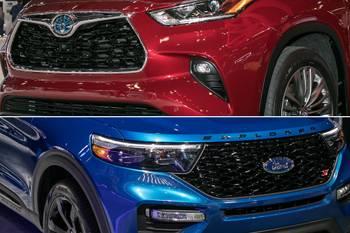 Auto Show Face-Off: 2020 Ford Explorer Vs. 2020 Toyota Highlander