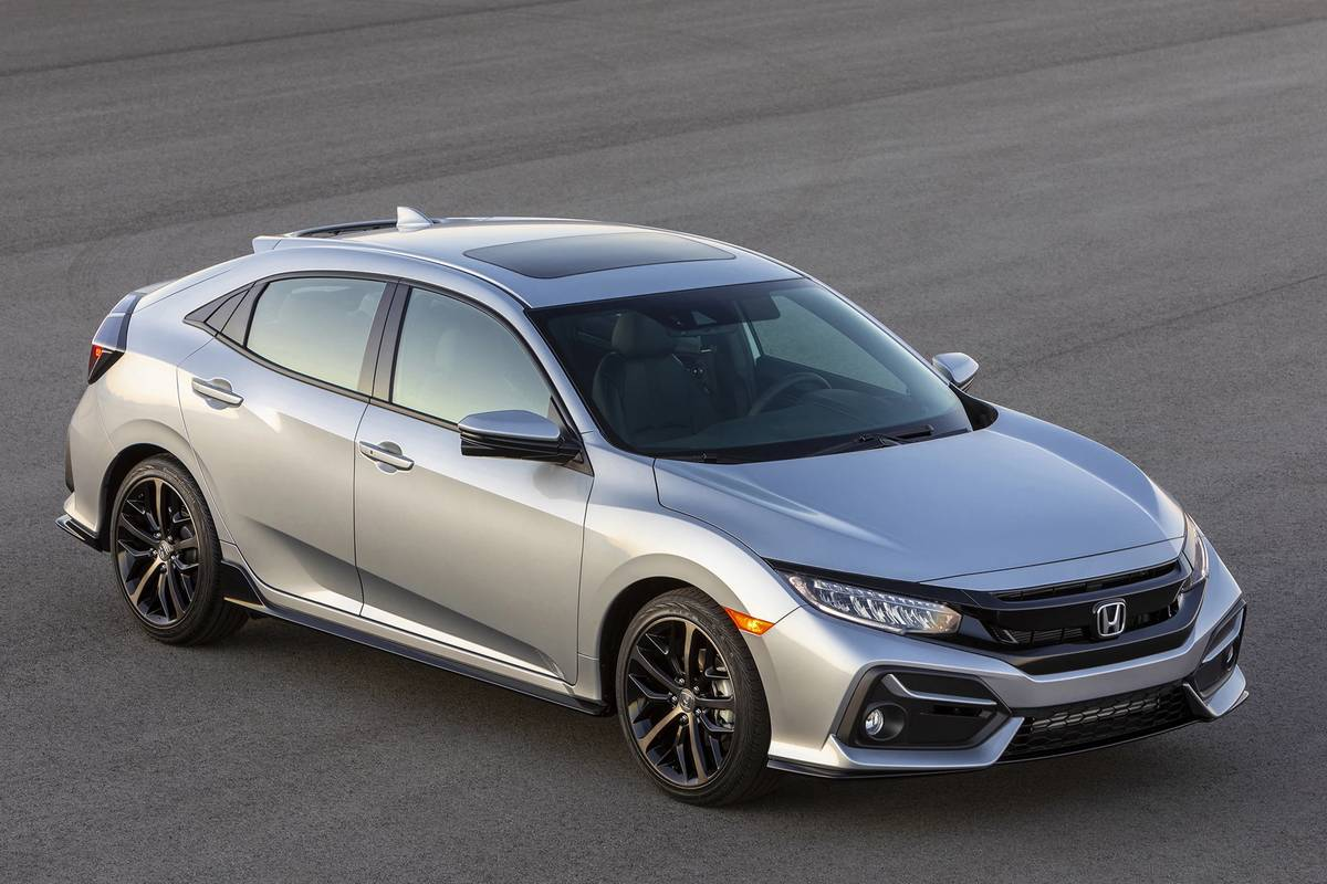honda civic hatchback which should you buy 2020 or 2021 news cars com honda civic hatchback which should you