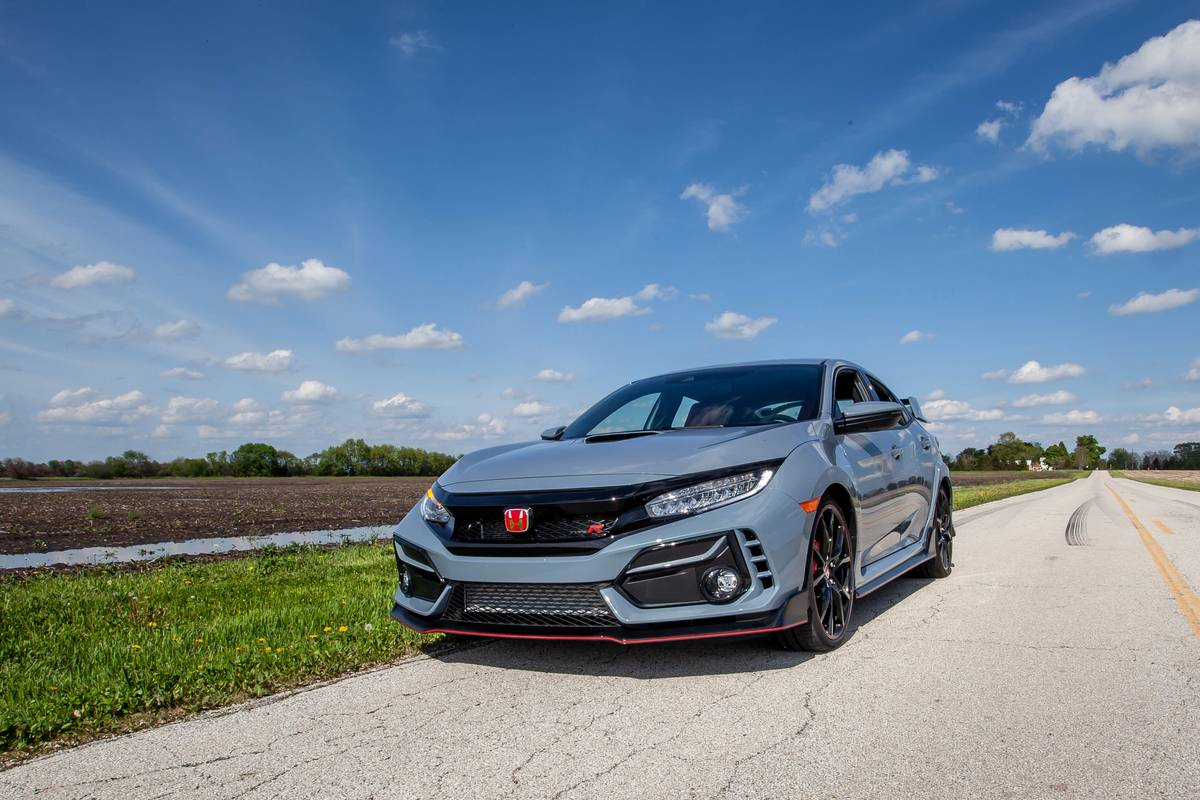 2020 Honda Civic Type R Review Same Lovable Type R With One Caveat News Cars Com