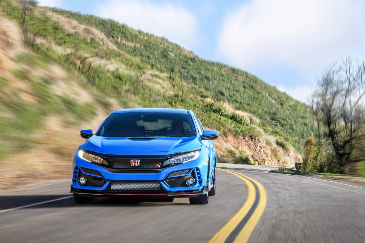 2020 Honda Civic Type R Still The Wild Child Of The Family News Cars Com