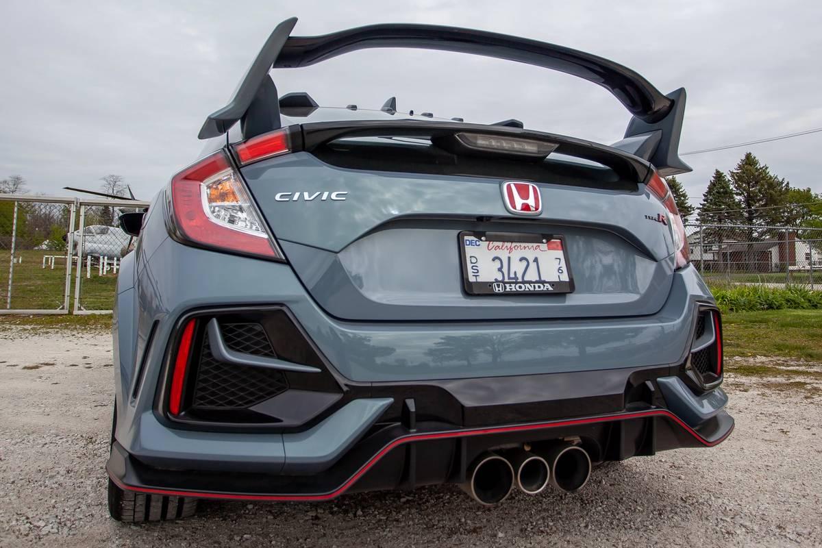 2020 Honda Civid Type R spoiler