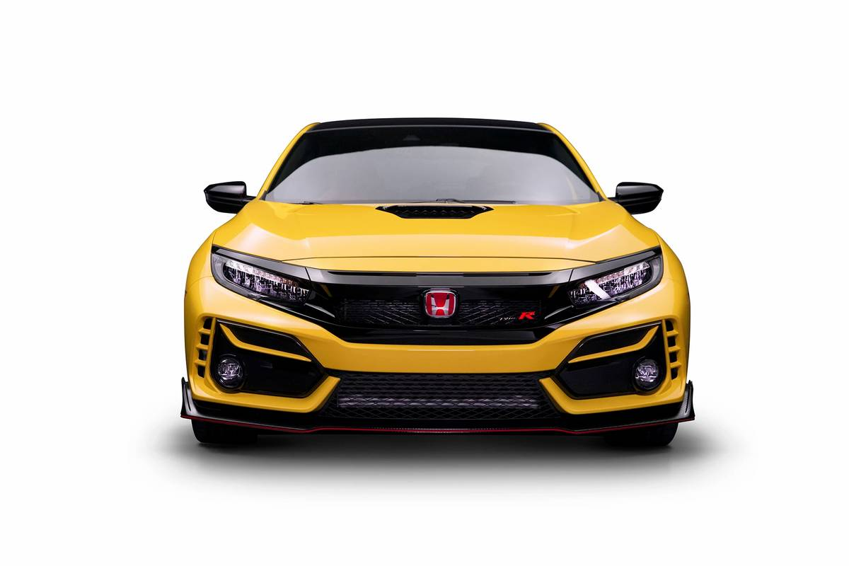 2021 Honda Civic Type R Limited Edition Getting Closer to ...