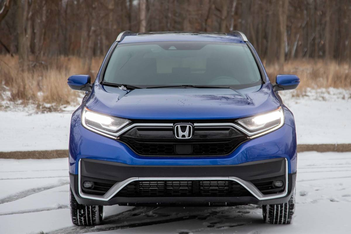 Blue 2020 Honda CR-V front