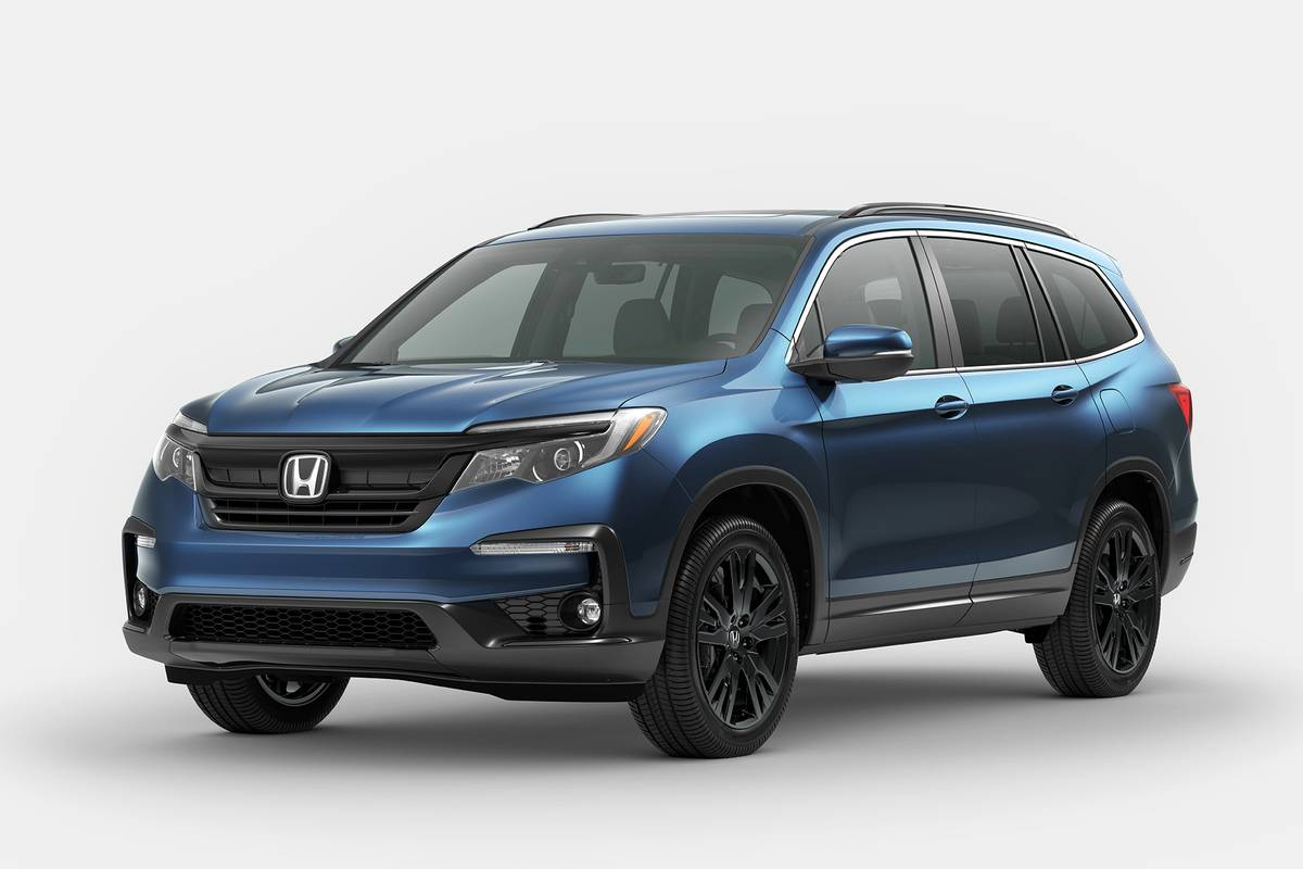 2021 Honda Pilot Special Edition in blue