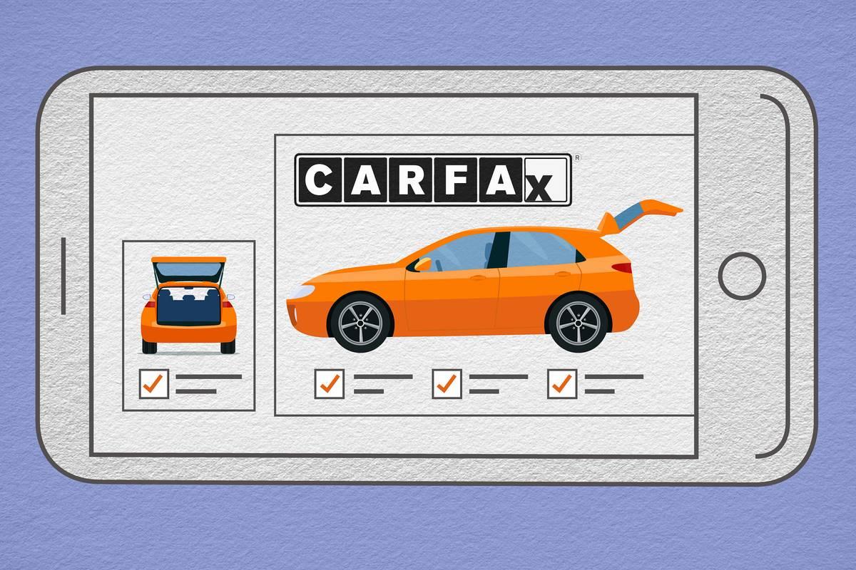Free Carfax report illustration
