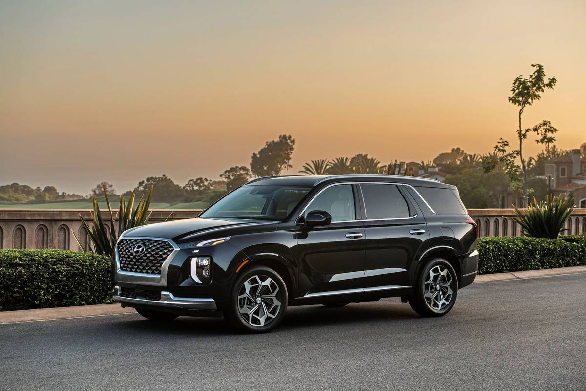 2021 Hyundai Palisade Gets Fancier With New Calligraphy Model