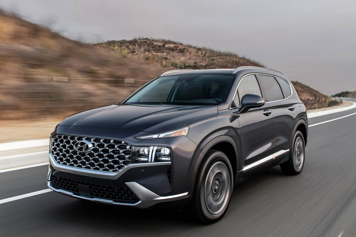 2021 Hyundai Santa Fe Gets Palisade Makeover, Upgraded ...