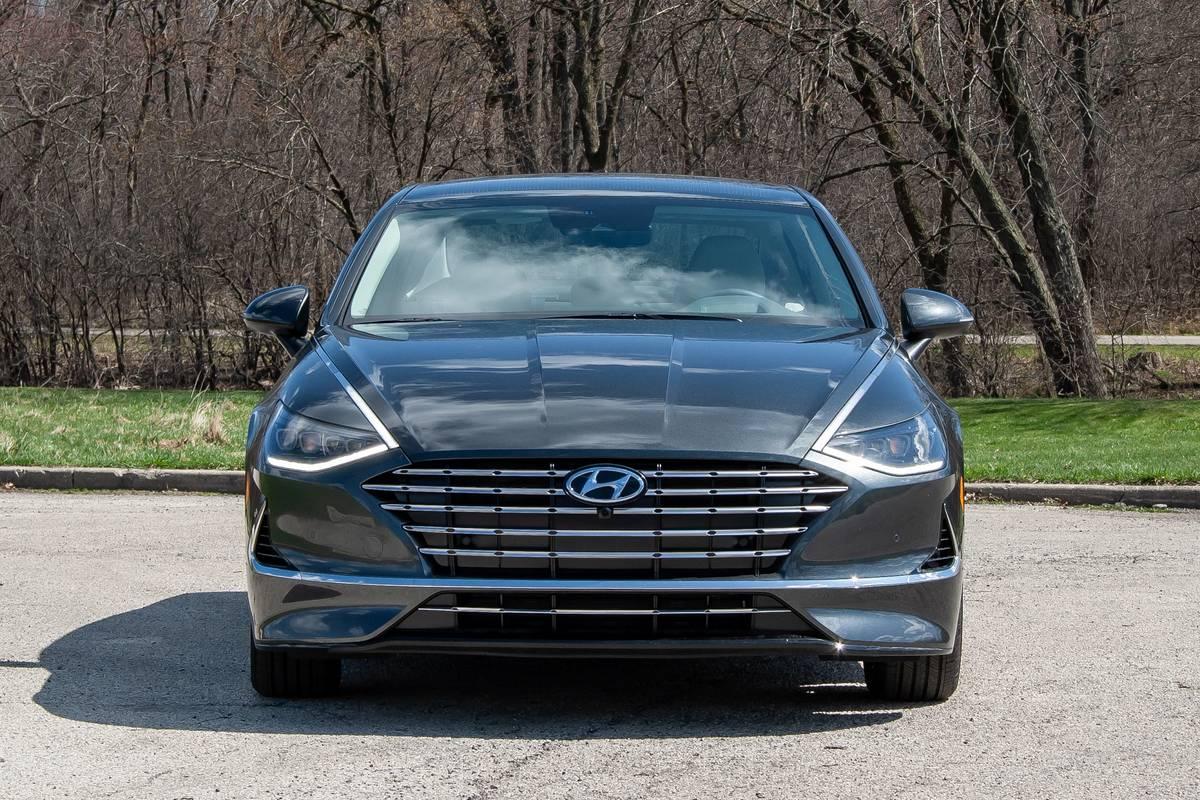 2020 Hyundai Sonata Hybrid grille