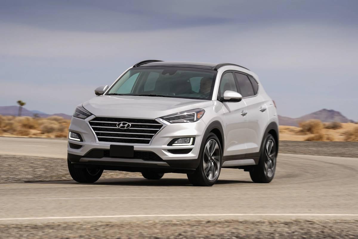 White 2020 Hyundai Tucson