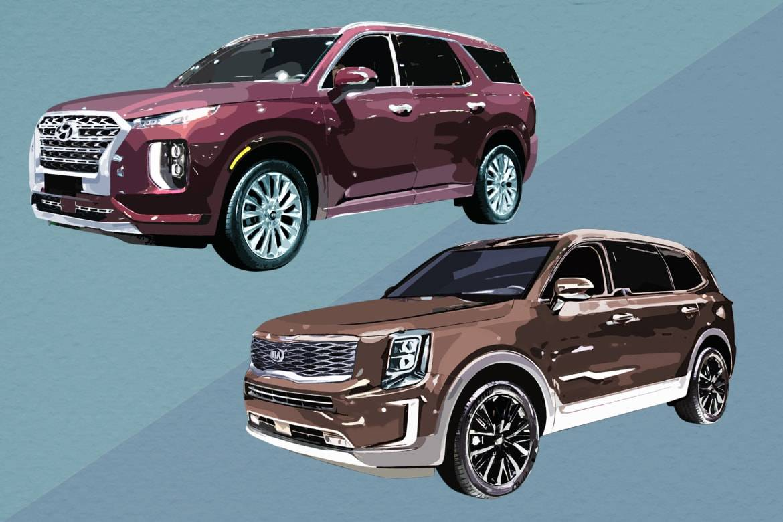 2021 Hyundai Palisade Vs Kia Telluride New Model and Performance
