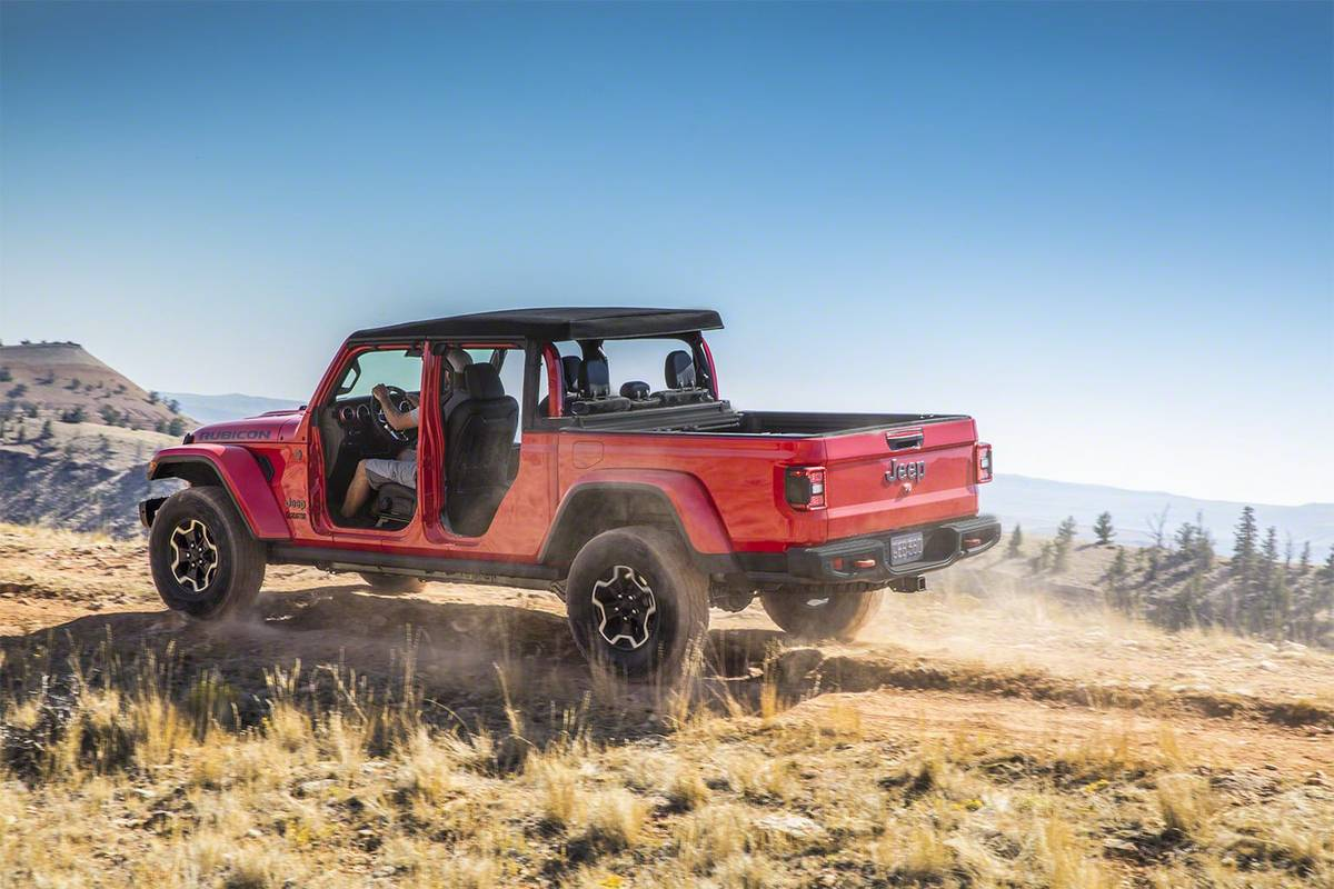 2020 Jeep Gladiator More Than A Wrangler Pickup News Cars Com