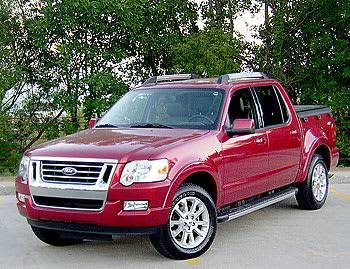 Our view: 2008 Ford Explorer Sport Trac