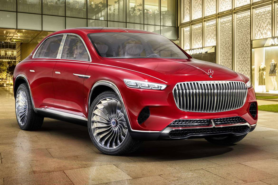 6 Ways Vision Mercedes Maybach Ultimate Luxury Lives Up To Its Name News Cars Com