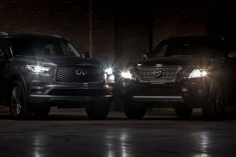 01-nissan-armada-vs-infiniti-qx80-2018-black-exterior-front-head