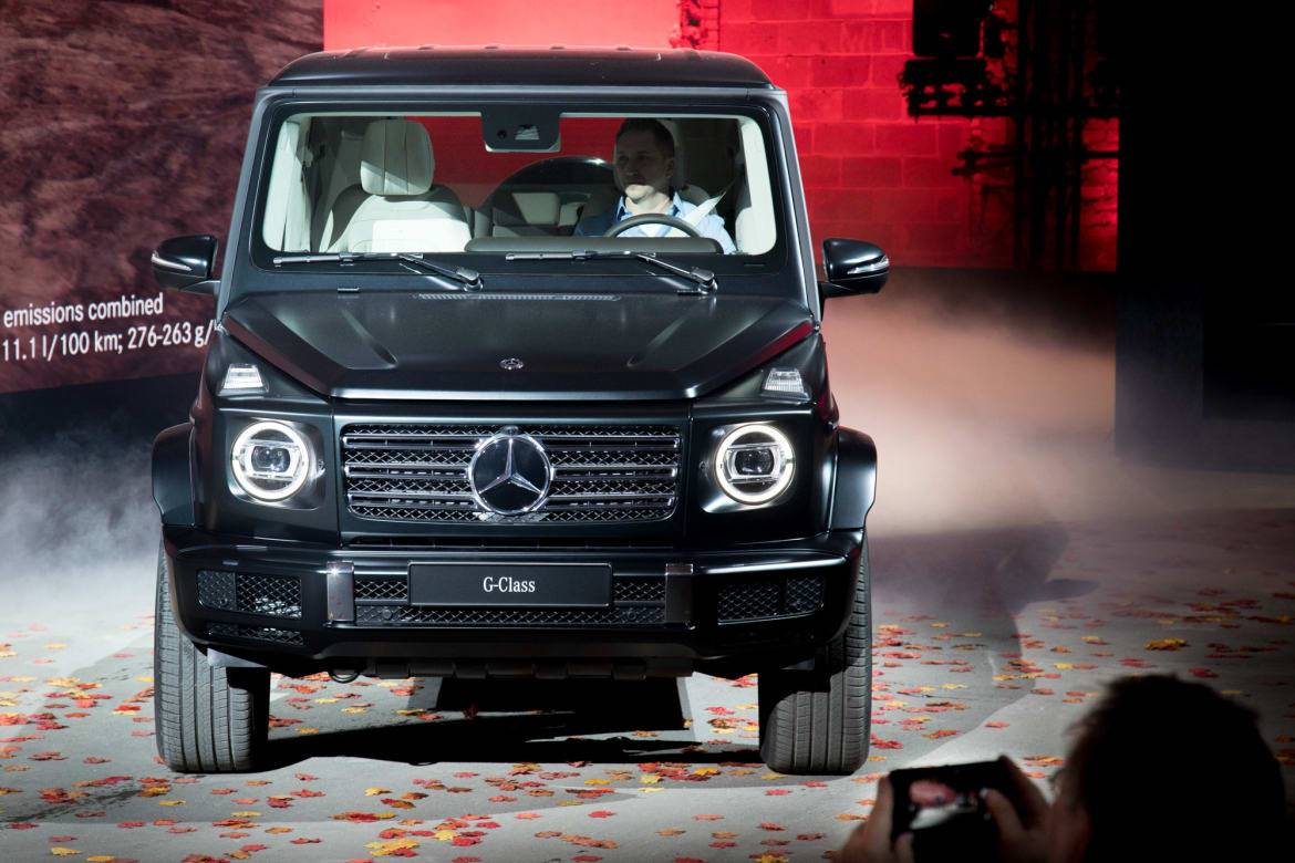 2019 Mercedes Benz G Class Luxury Squared News Cars Com