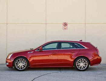 Our view: 2010 Cadillac CTS