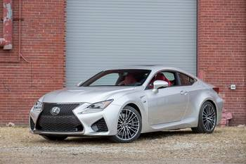 Our view: 2015 Lexus RC F