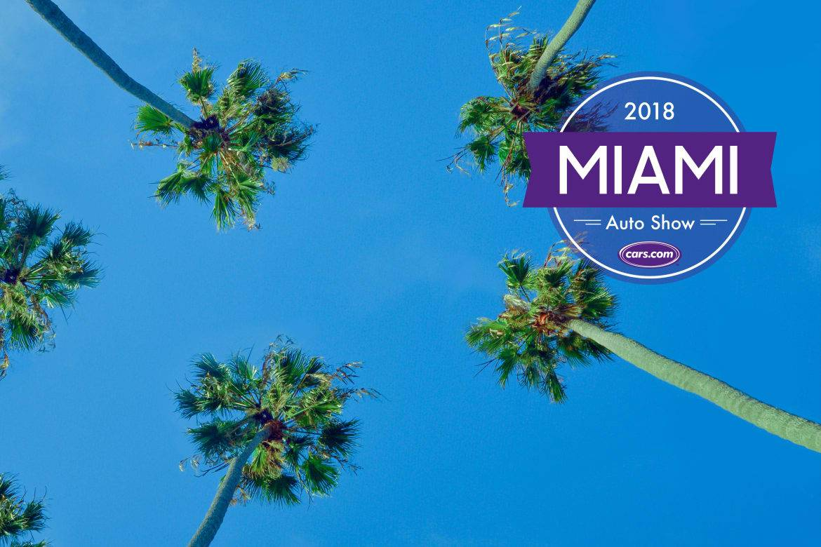 2018 Miami Auto Show: 5 Things You Can't Miss