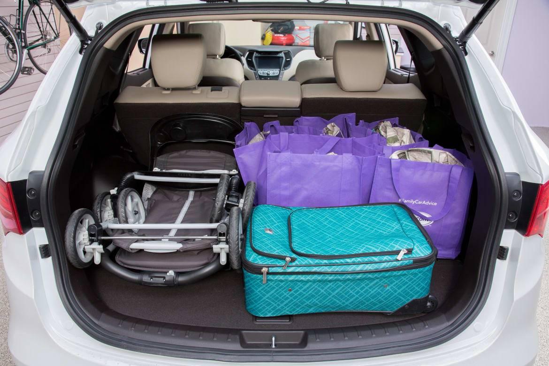 Cargo Conundrum Hyundai Tucson Versus Santa Fe Sport News Cars Com