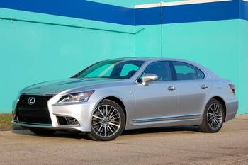 Our view: 2013 Lexus LS 460
