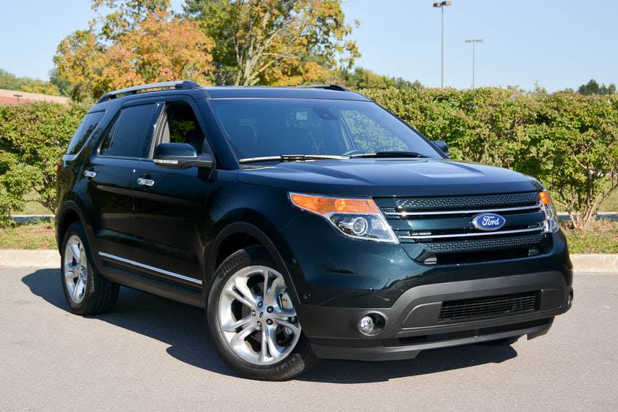 Our view: 2014 Ford Explorer