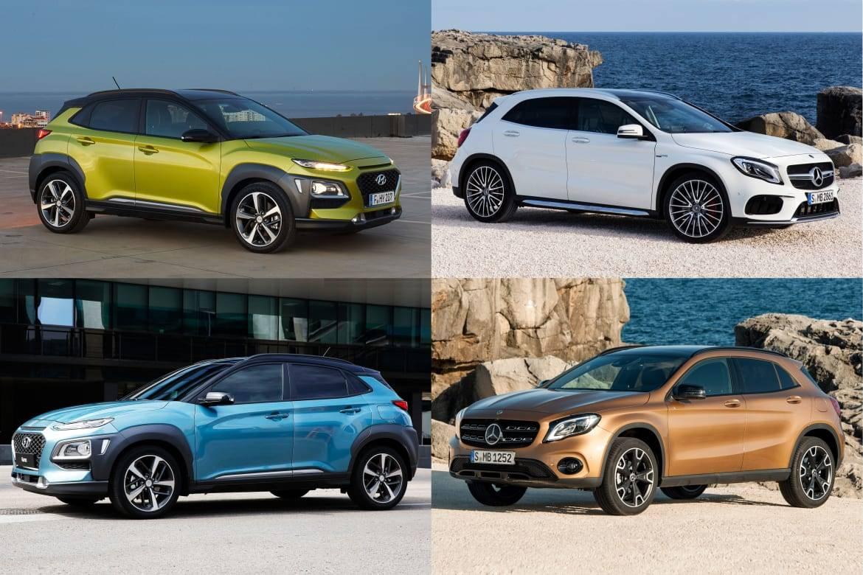 2018 Hyundai Kona: 4 Cars the Kona Copycats