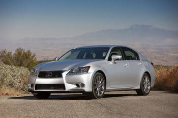 Our view: 2013 Lexus GS 350