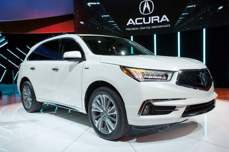 2017 Acura MDX Sport Hybrid Starts at $52,935