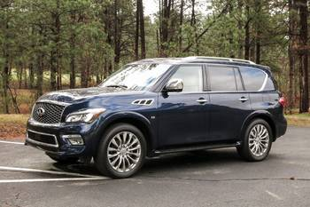 Our view: 2016 Infiniti QX80